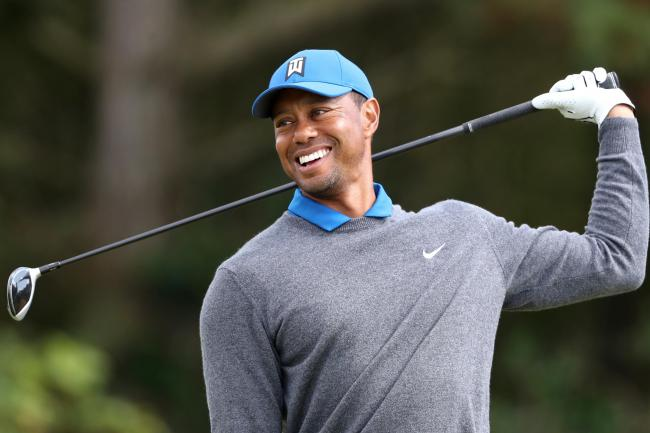 Tiger Woods was unable to host the Champions Dinner at Augusta last night so came up with an alternative solution