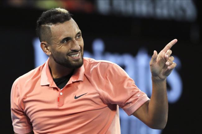 Nick Kyrgios was among the first-round winners on Tuesday