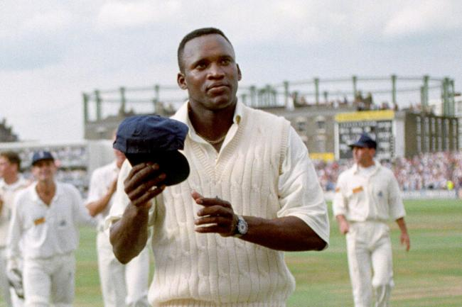 Devon Malcolm took nine for 57 runs at The Oval