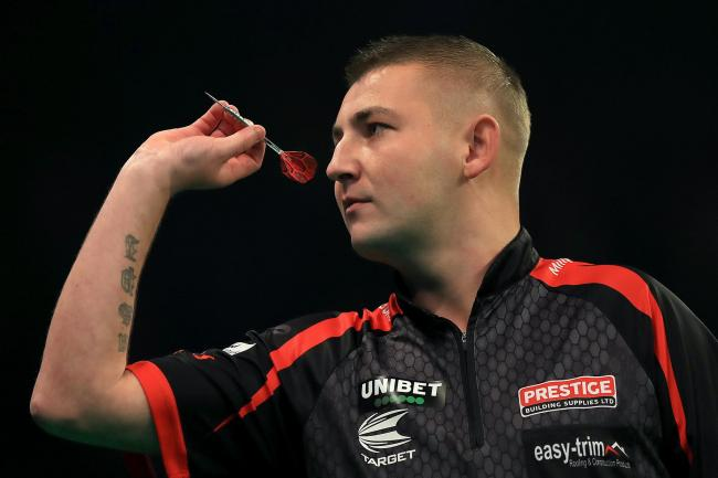 Nathan Aspinall is a two-time PDC World Championship semi-finalist (Simon Cooper/PA)