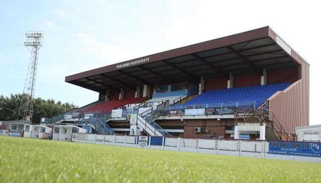 n Weymouth's Bob Lucas Stadium 						          Picture: MARK PROBIN