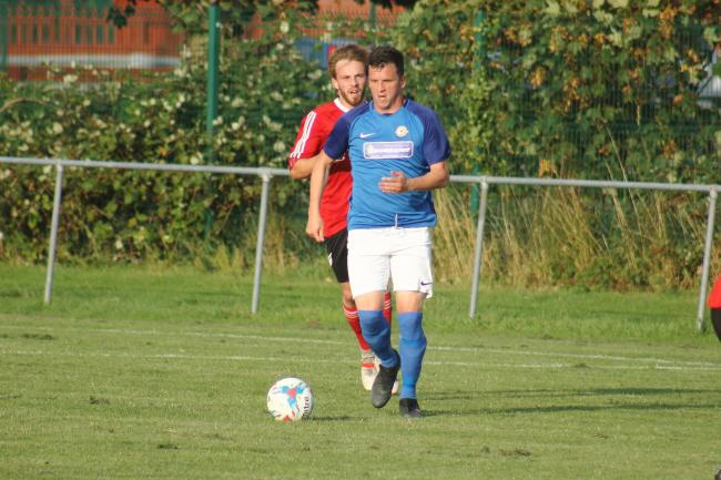 Sean Zima scored twice for Balti in the first half 				          Picture: STEVE HUNTER