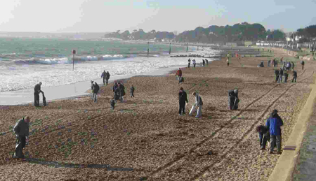 Dorset Beaches: friars cliff