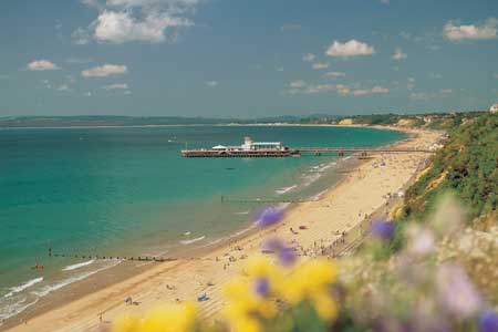 Dorset Beaches: Bournemouth beach