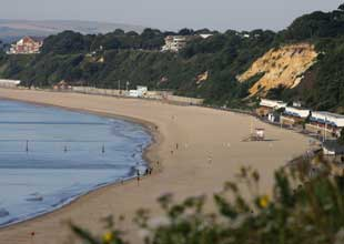 BEAUTIFUL: Branksome Dene Chine and Canford Cliffs beach. Picture: Richard Crease. ID: 5388509