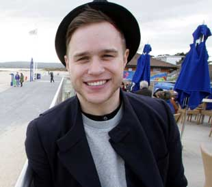 Olly Murs in Sandbanks