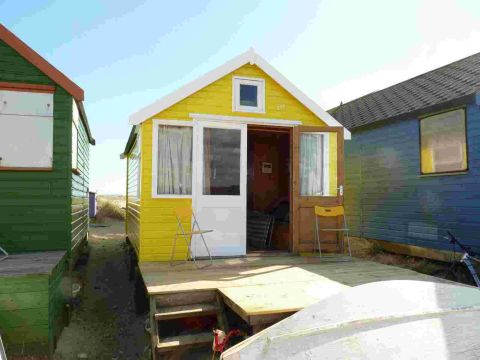 SEA VIEWS: Beach hut number 246