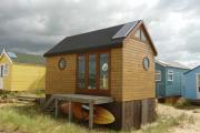 The most expensive beach hut in Britain: Mudeford hut with fitted kitchen and separate bedroom snapped-up for £170,000 after just two days