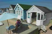 SOLD: This beach hut at Mudeford is the latest to sell for a huge price