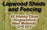 LAPWOOD FENCING