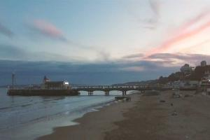 WATCH: Stunning aerial footage captures Bournemouth at dusk