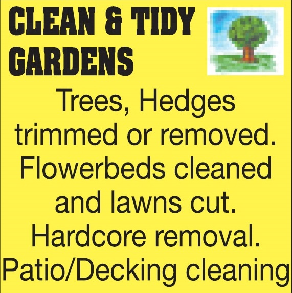 Clean And Tidy Gardens