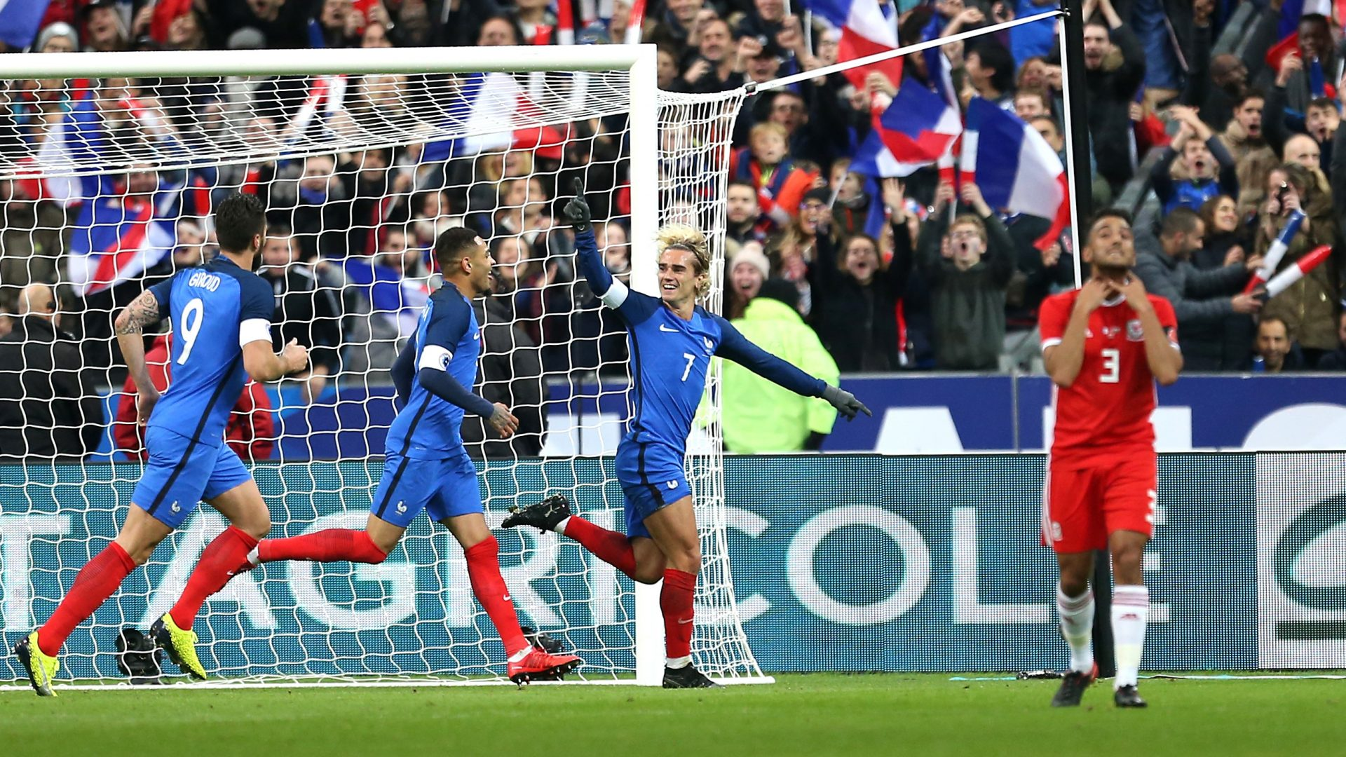 Antoine Griezmann broke the deadlock in Paris