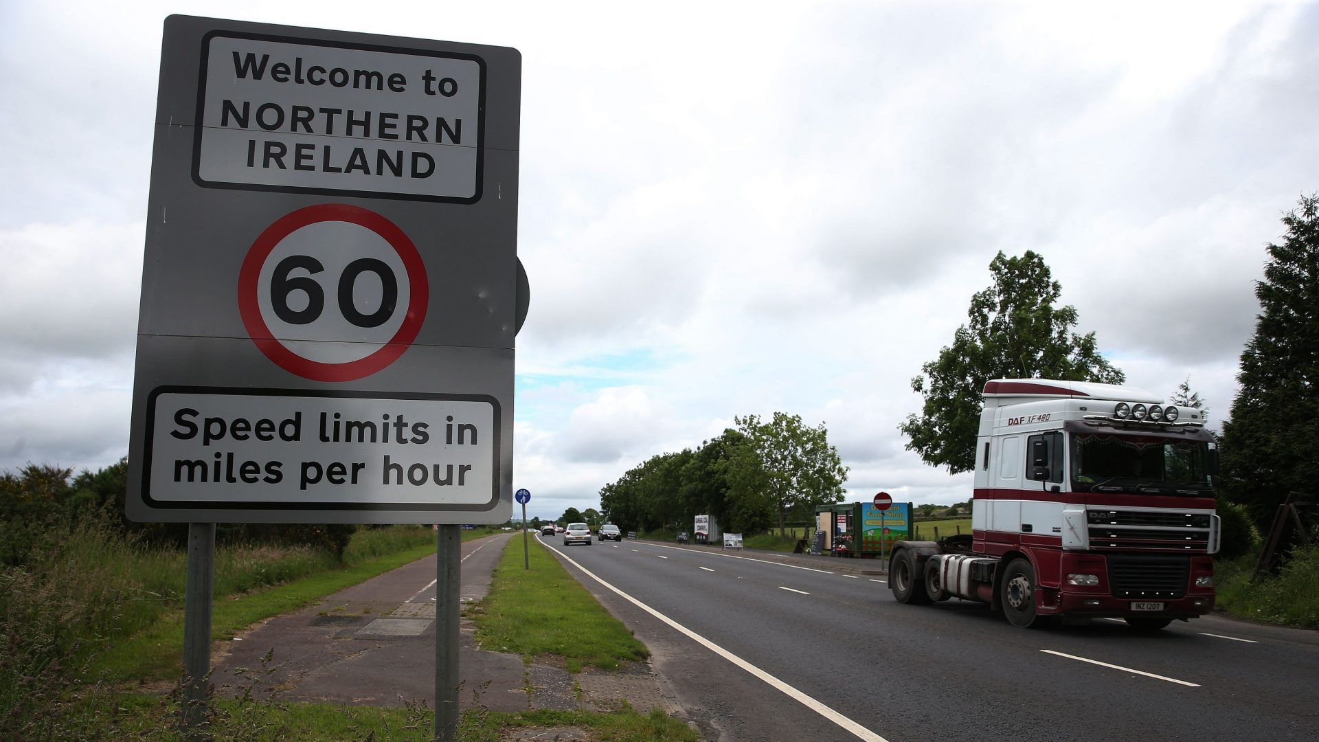 Theresa May is desperate to reach an agreement on a post-Brexit plan for the Irish border (Brian Lawless/PA)