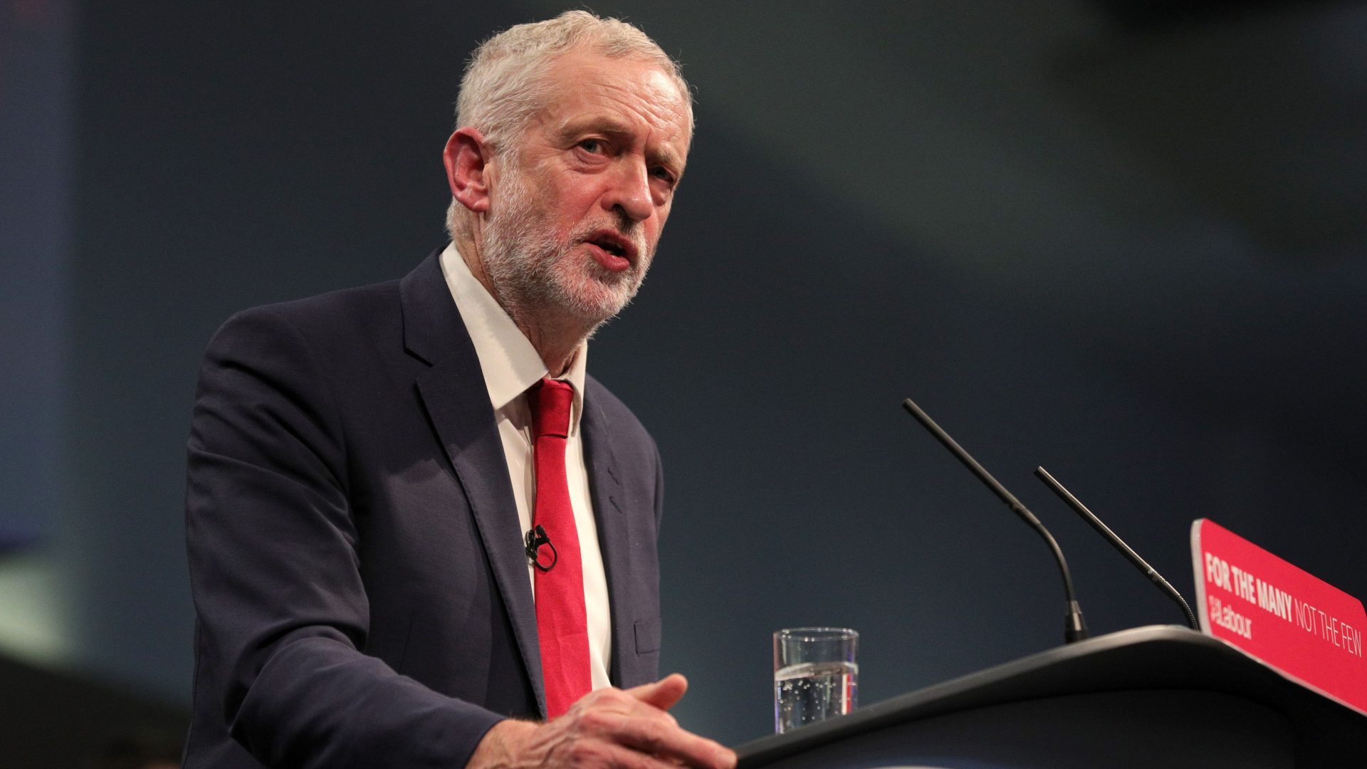 Momentum was founded in 2015 as a grassroots movement to support Jeremy Corbyn's leadership of the Labour Party (Aaron Chown/PA)