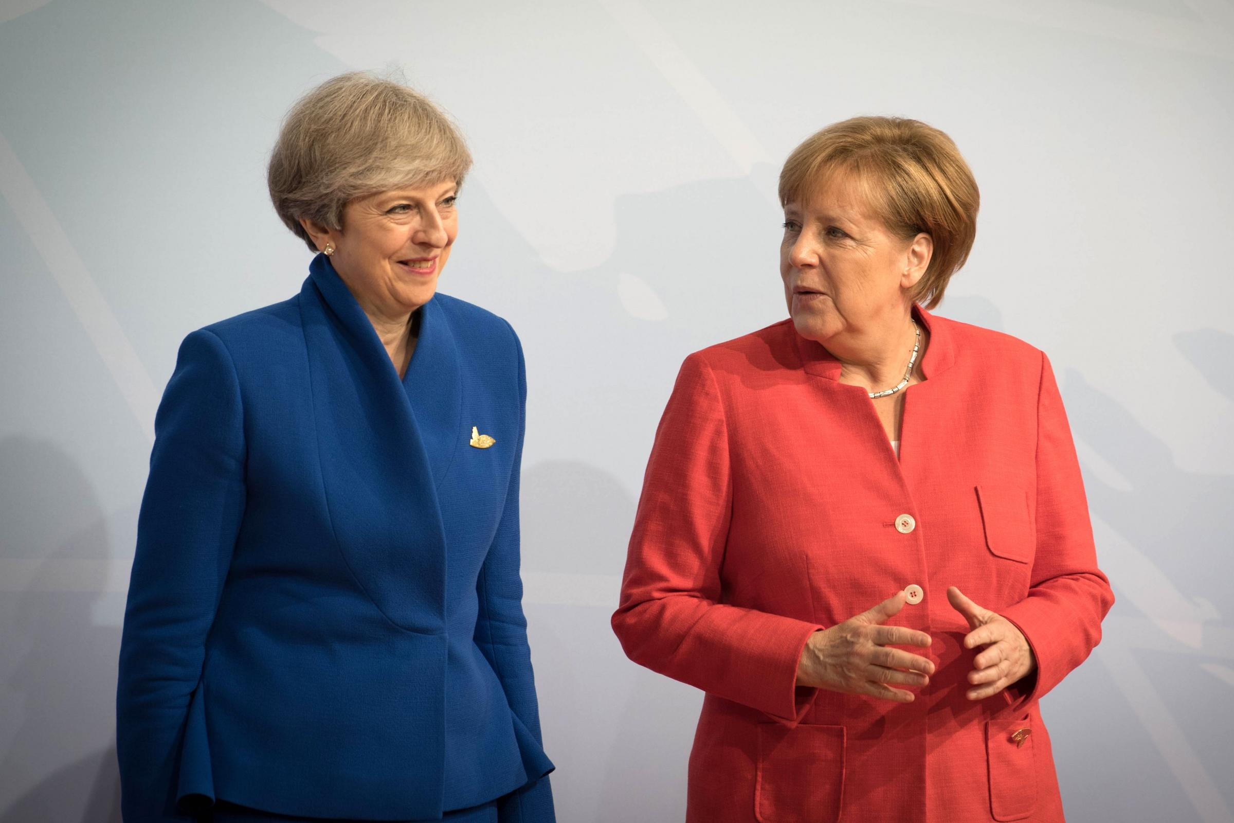 Theresa May and Angela Merkel will hold talks in Berlin (Stefan Rousseau/PA)
