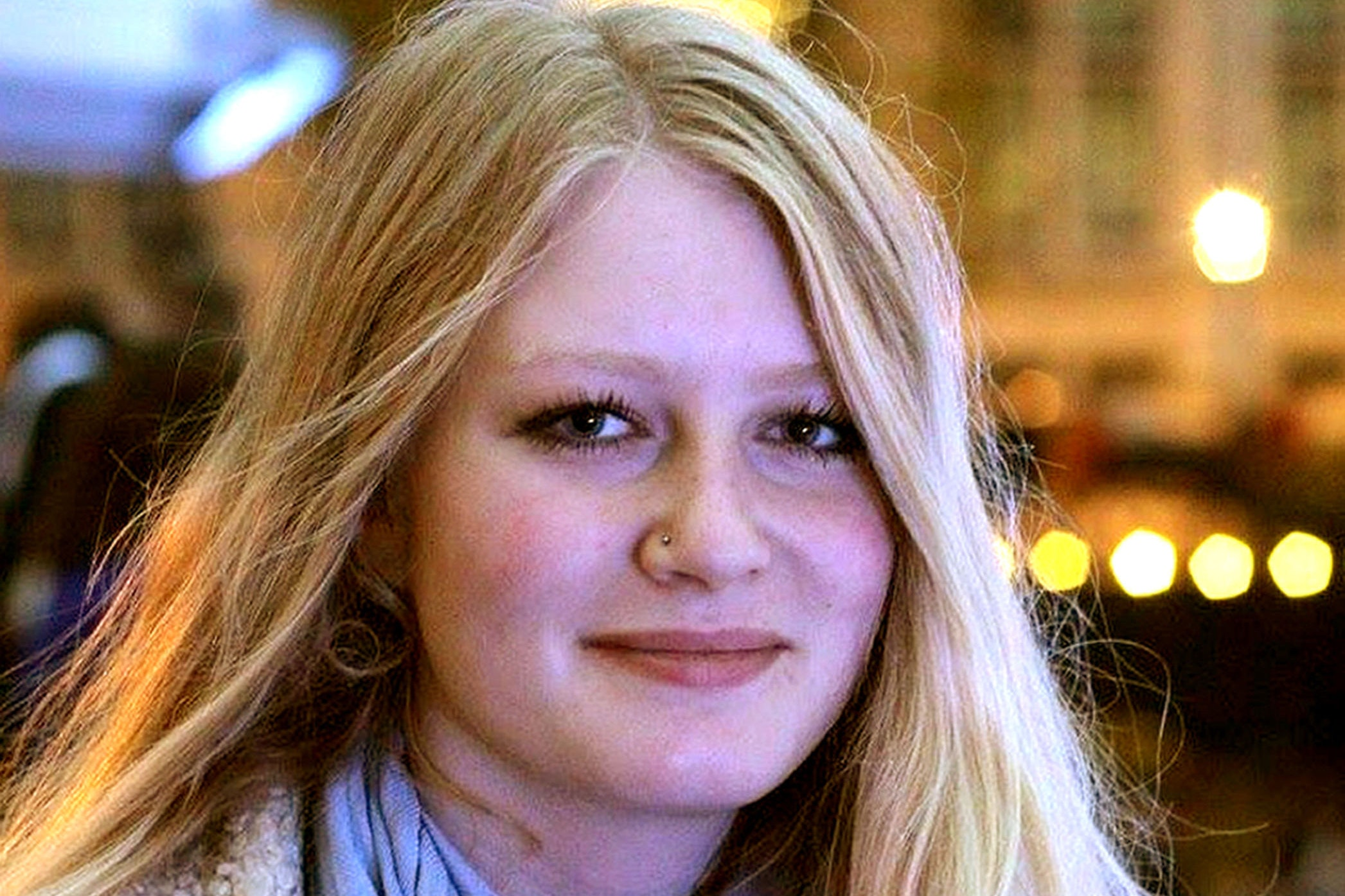 Undated handout file photo issued by Dorset Police of Gaia Pope, who died from hypothermia, an inquest has heard.