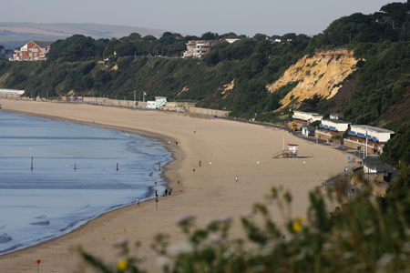 Dorset Beaches: Canford Cliffs