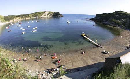 Dorset Beaches: Lulworth Cove