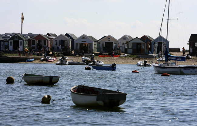Dorset Beaches: Mudeford