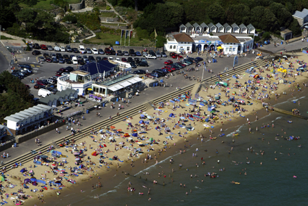 Dorset Beaches: Branksome Chine