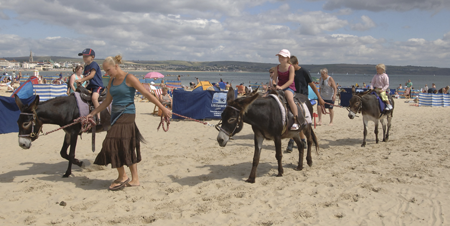 Dorset Beaches: Weymouth beach