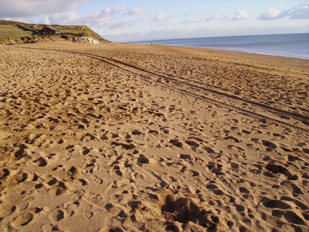 Dorset Beaches: Hive Beach