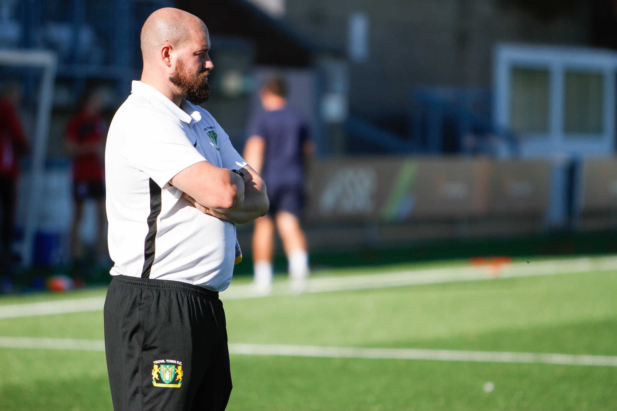 Yeovil Town Ladies manager Lee Burch Picture: Lee Collier Photography