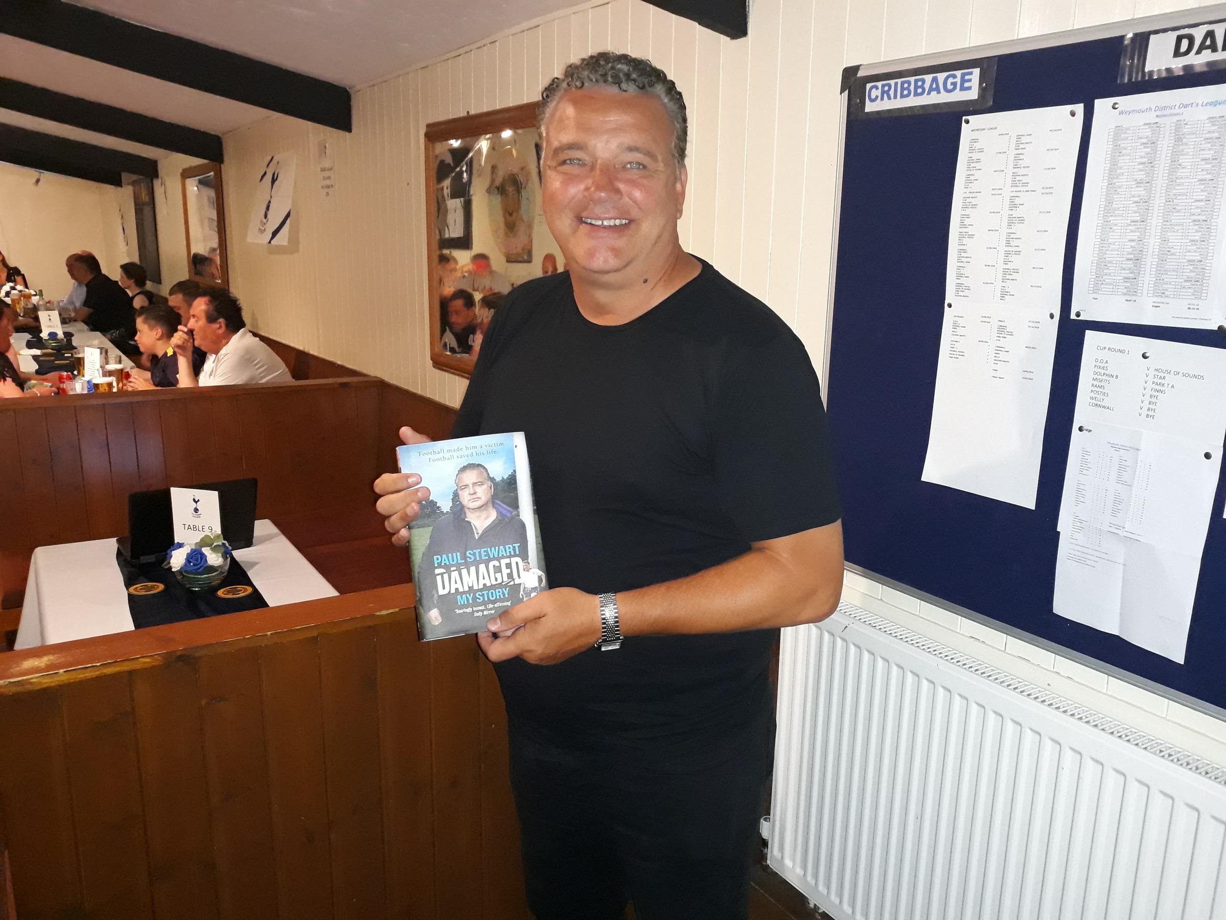 LEGEND: Paul Stewart at a previous South Dorset Spurs night