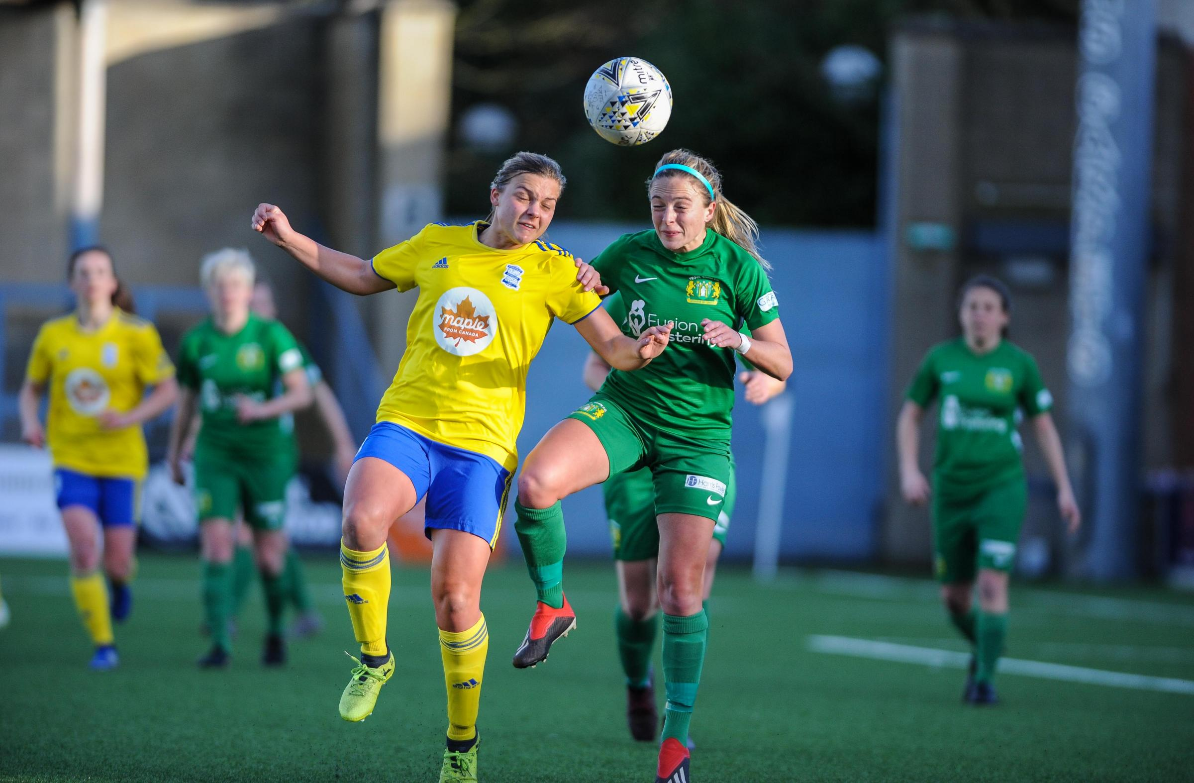 SWITCH: Yeovil Ladies will play Chelsea at Huish Park on Tuesday Picture: LEE COLLIER PHOTOGRAPHY