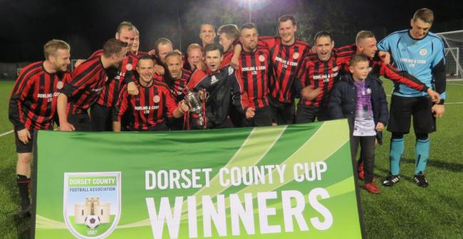 CELEBRATIONS: Wool Reserves enjoy their Junior Cup win 